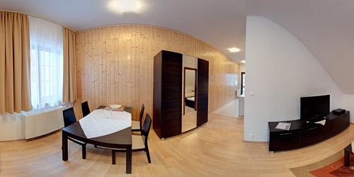 Apartmán na poschodí